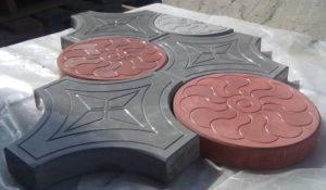 Тротуарная плитка вибролитая  в Люберцы