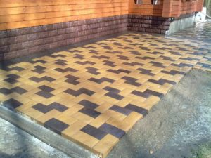 Укладка тротуарной плитки в Люберцы